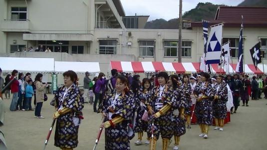 武田勝頼公祭り 北条夫人部隊