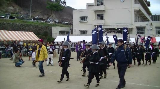 武田勝頼公祭り 鉄砲隊