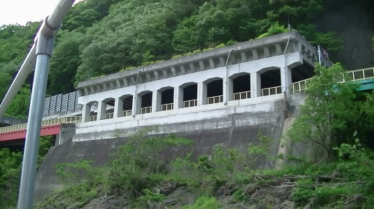 富士川舟運 パルテノン神殿