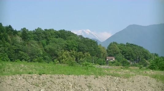 富士川舟運 富士山