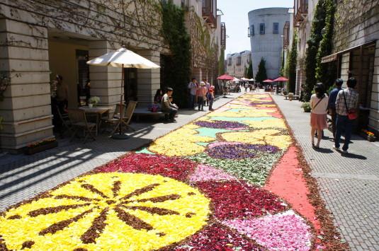 花の絨毯 リゾナーレ 外観