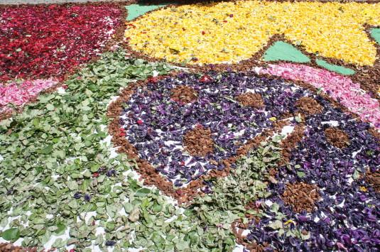 花の絨毯 リゾナーレ 花びら