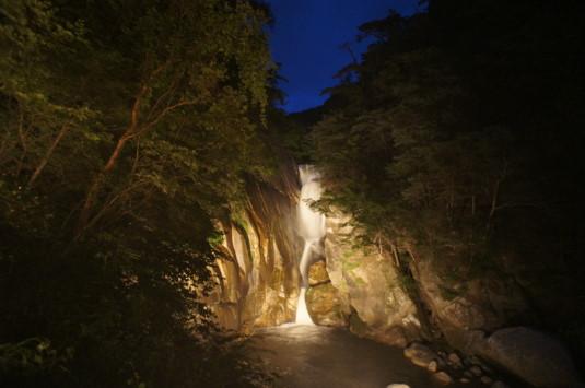 昇仙峡ライトアップ 外観
