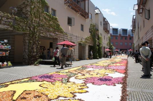 花の絨毯 リゾナーレ 絨毯