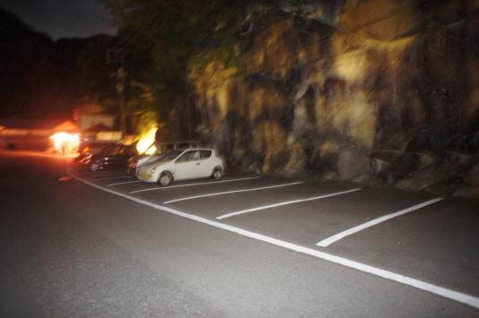 昇仙峡ライトアップ 駐車場
