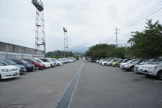 北杜ふるさとまつり 駐車場 会場