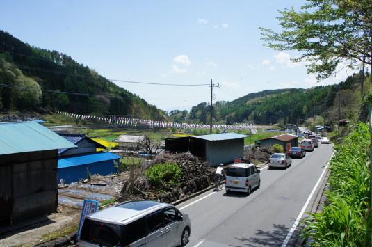 長沢鯉のぼり祭り1 渋滞