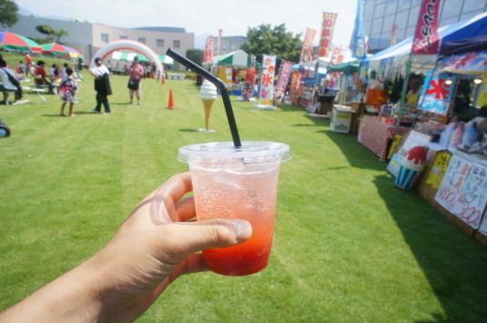 アリア祭り プラムジュース