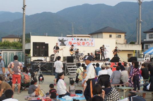 与一公祭り ステージ