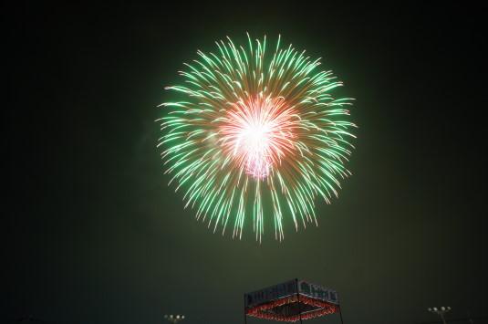 与一公祭り 花火