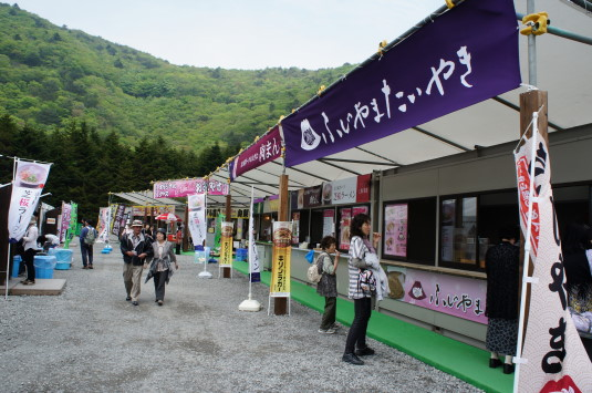 富士芝桜まつり フードコート