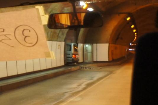 雁坂トンネルミステリーツアー ズリ搬出抗入り口