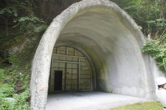 雁坂トンネルミステリーツアー 入り口