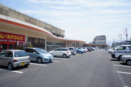 カレーのチャンピオン 駐車場