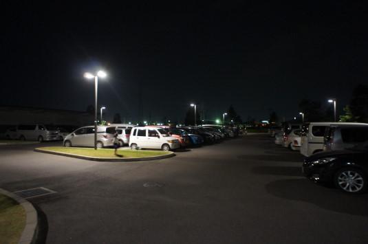 ホタル 昭和町 駐車場