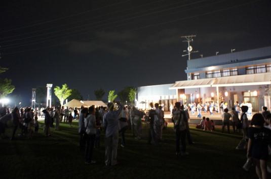 ホタル 昭和町 祭り会場
