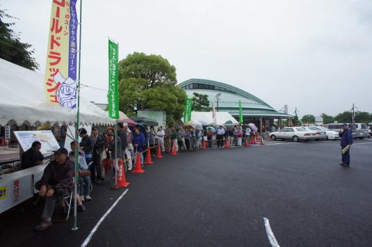 スイートコーン収穫祭 8時
