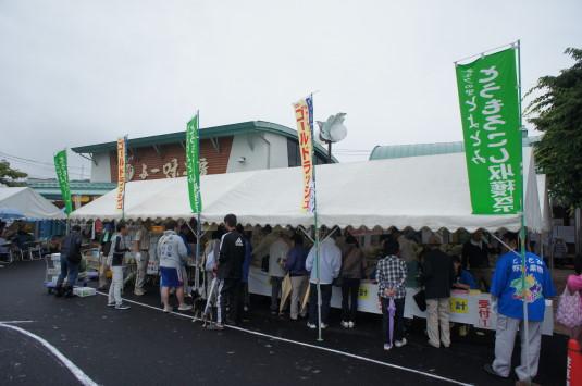 スイートコーン収穫祭 外観