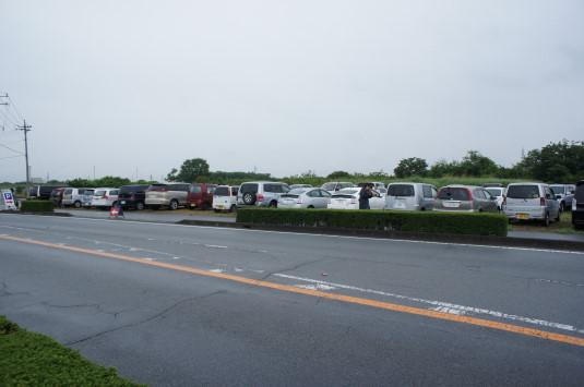 スイートコーン収穫祭 臨時駐車場