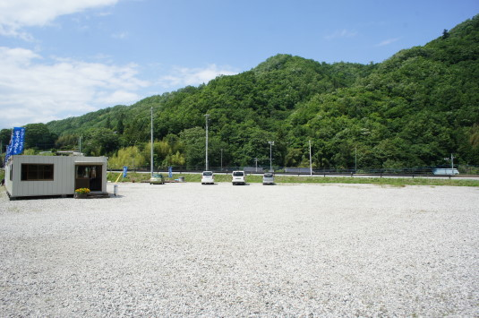 富士川舟運 駐車場