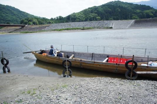 富士川舟運 船