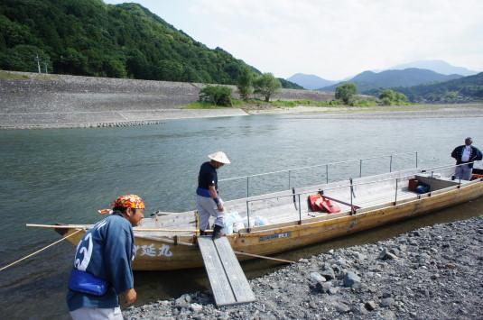 富士川舟運 ゴール地点