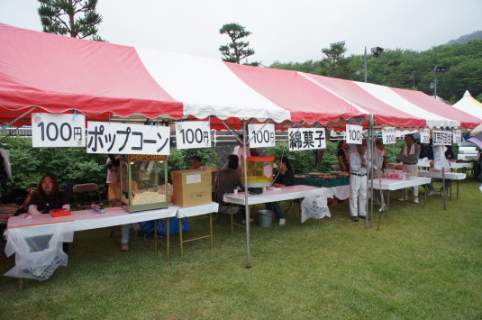 甘々娘収穫祭 売店