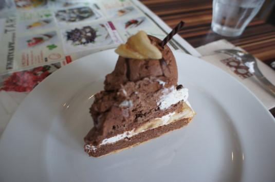 タルト食べ放題 8カフェ チョコバナナタルト