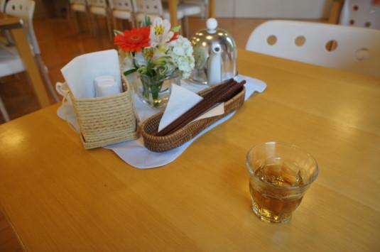 アルソア社食 お茶