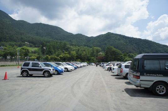 ハーブフェスティバル 大石公園 駐車場
