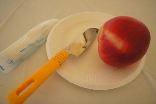 完熟桃食べ放題 実食