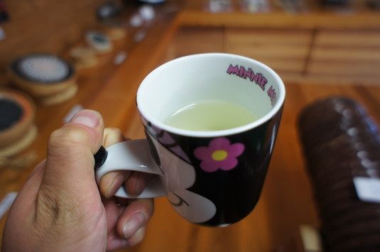 花火資料館 コーンのひげ茶