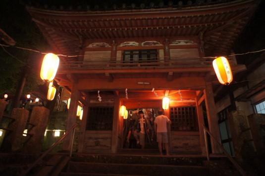 若宮八幡宮例祭 神社 夜