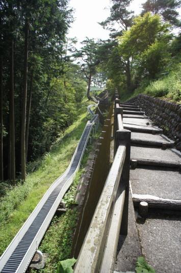 ローラー滑り台 階段
