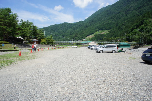 丹波山村やまびこ橋 駐車場