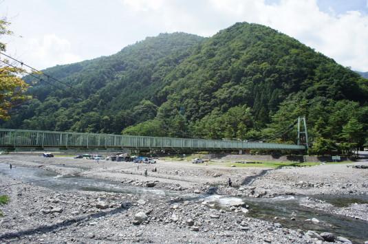 丹波山村やまびこ橋 外観