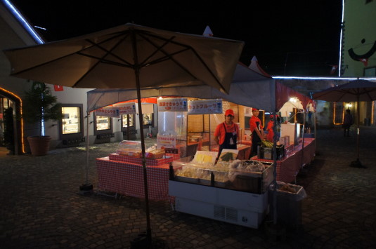 ハイジの村 夏の夜 屋台