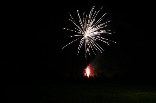 ハイジの村 夏の夜 花火