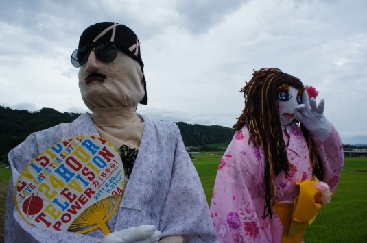 円野町かかし祭り ローラ