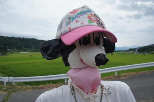 円野町かかし祭り ミニー