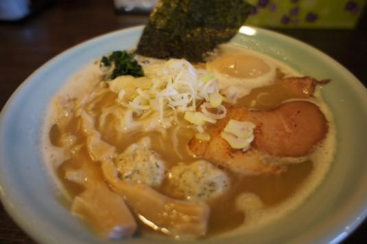 ラーメン いち○ 鶏白湯