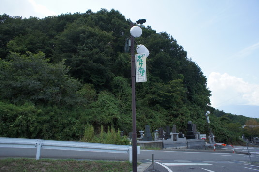 おっぱい公園 電灯