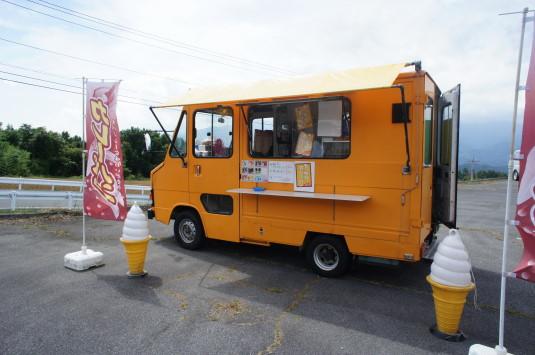 明野朝市 カレーパン