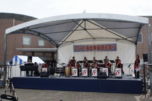 甲斐源氏祭り ステージ
