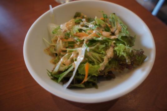 ラーメン屋 麺や純 サラダ