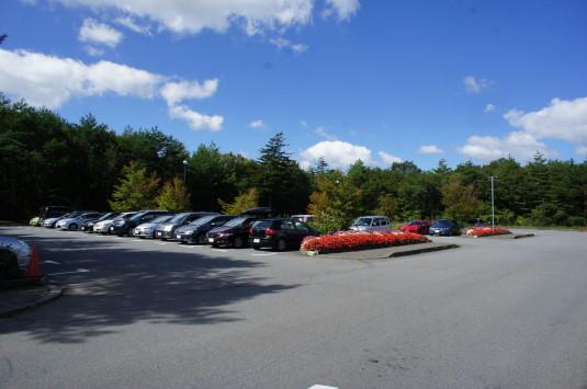山中湖花の都公園 ひまわり 駐車場