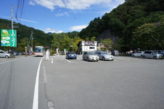昇仙峡ほうとう大会 駐車場