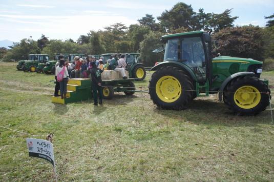 ポールラッシュ祭 体験 トラクター