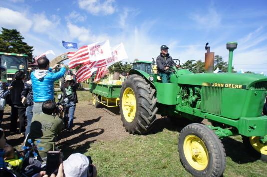 ポールラッシュ祭 トラクターパレート