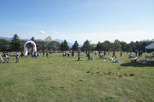 ポールラッシュ祭 体験 フットボール